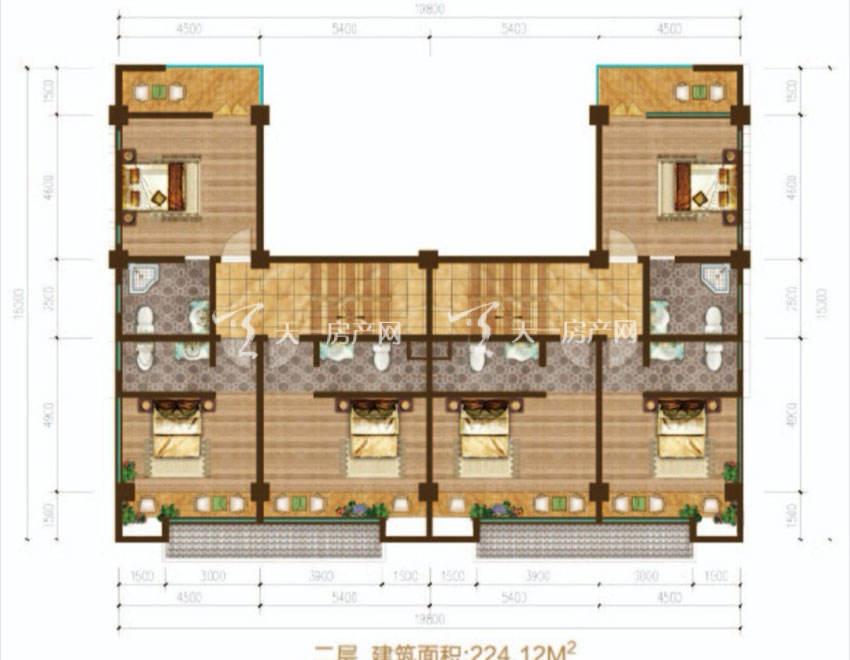 东方玫瑰谷二层商铺-六房两厅六卫-224.12平米.jpg