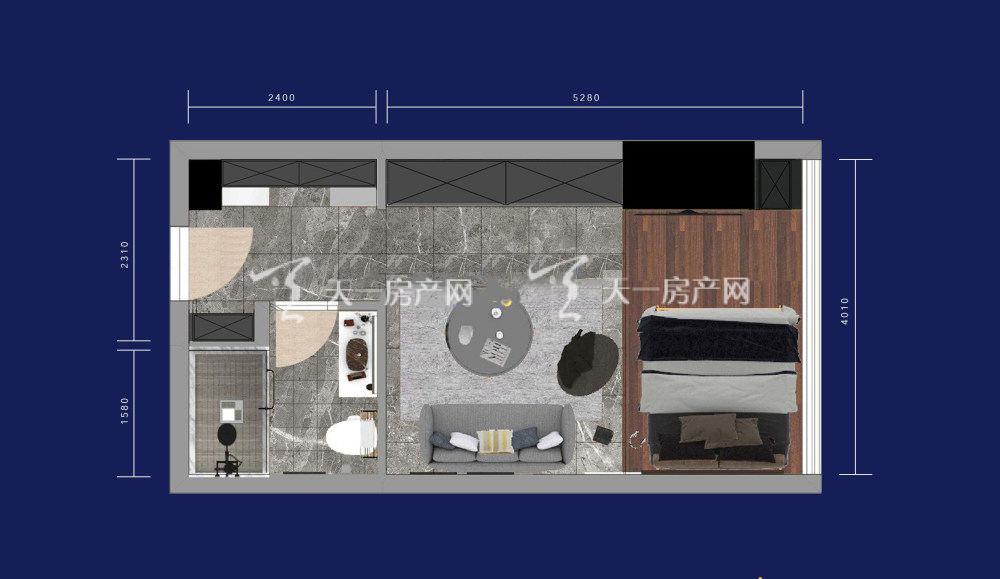 绿地星宸汇1室1厅1卫 建筑面积:45㎡.jpg