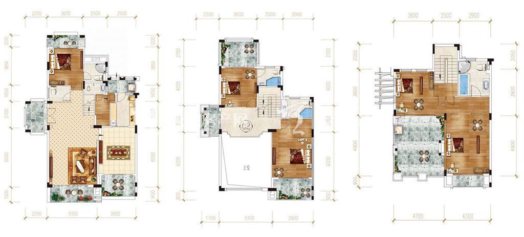 惠州富力湾双排【阅海】别墅建筑面积264-273㎡.jpg