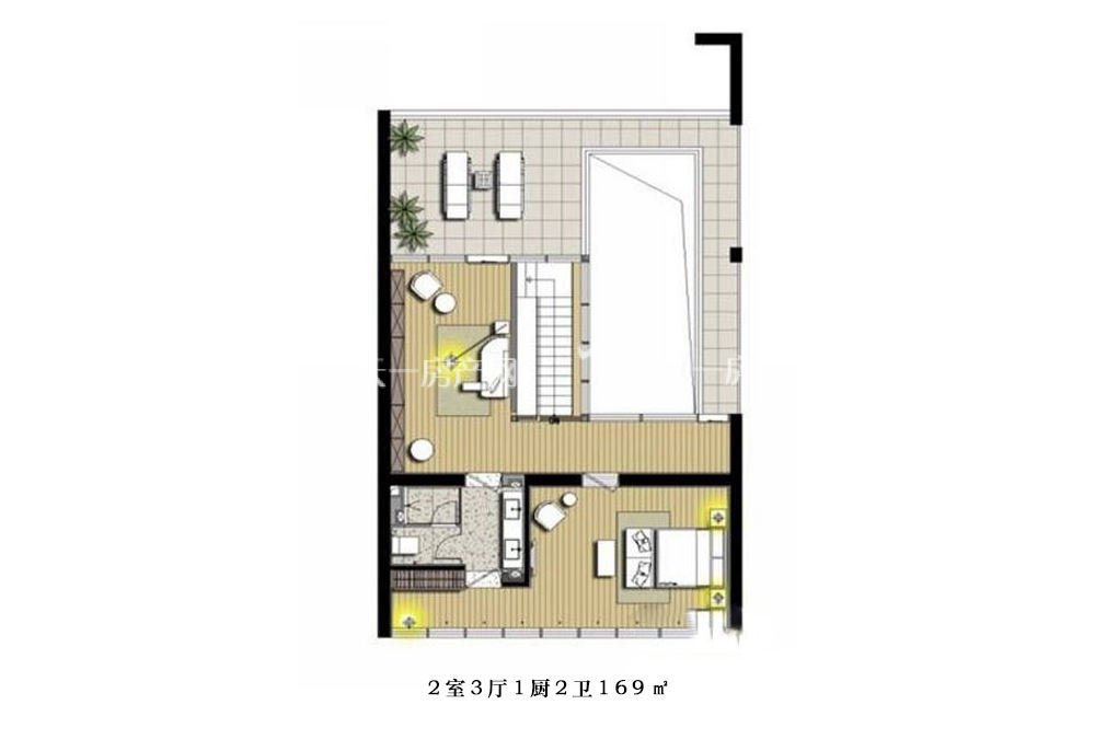 智汇城 2室3厅1厨2卫169㎡.jpg