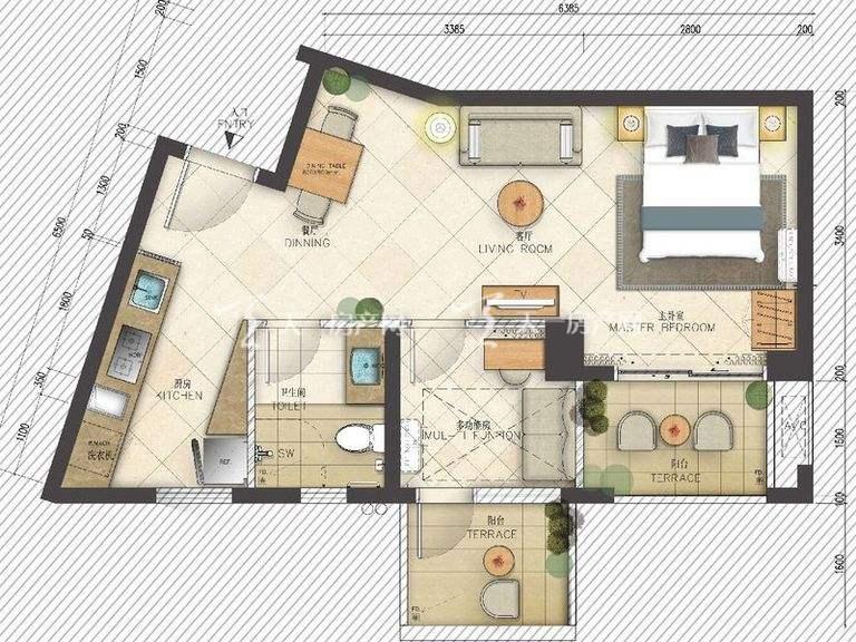 海岸漫谷 1、2、4、5号06户型一室一厅一厨一卫5162㎡.jpg