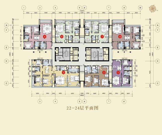 双大国际公馆 22-24层平面图.jpg