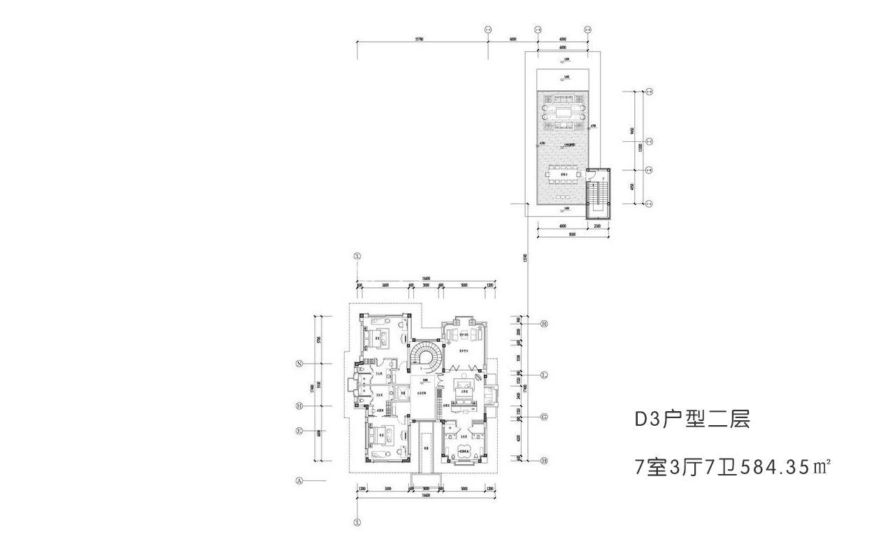 开维国玺二十五院 D3户型二层7室3厅7卫584.35㎡.jpg
