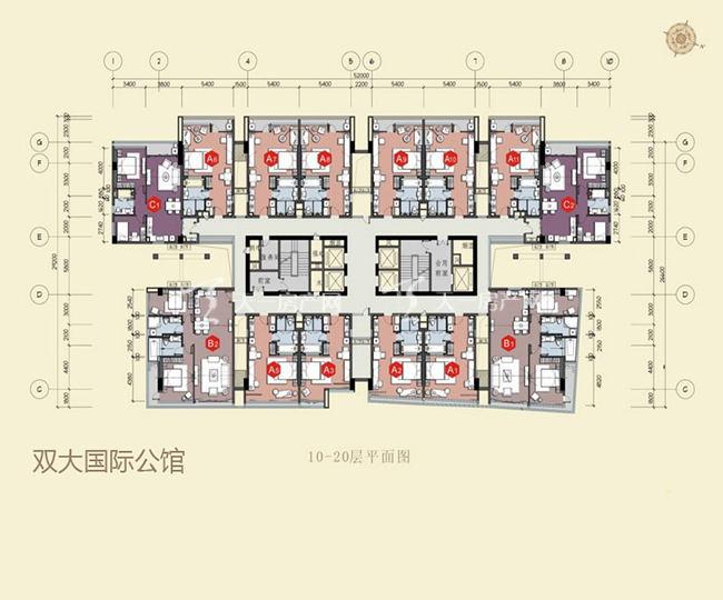 双大国际公馆 10-20层平面图.jpg