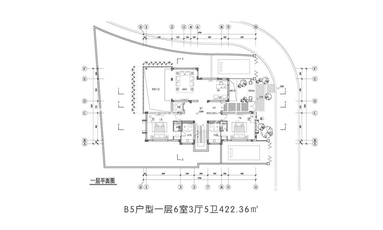 开维国玺二十五院 B5户型一层6室3厅5卫422.36㎡.jpg
