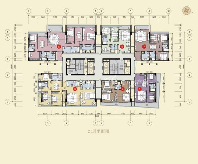 双大国际公馆 21层平面图.jpg