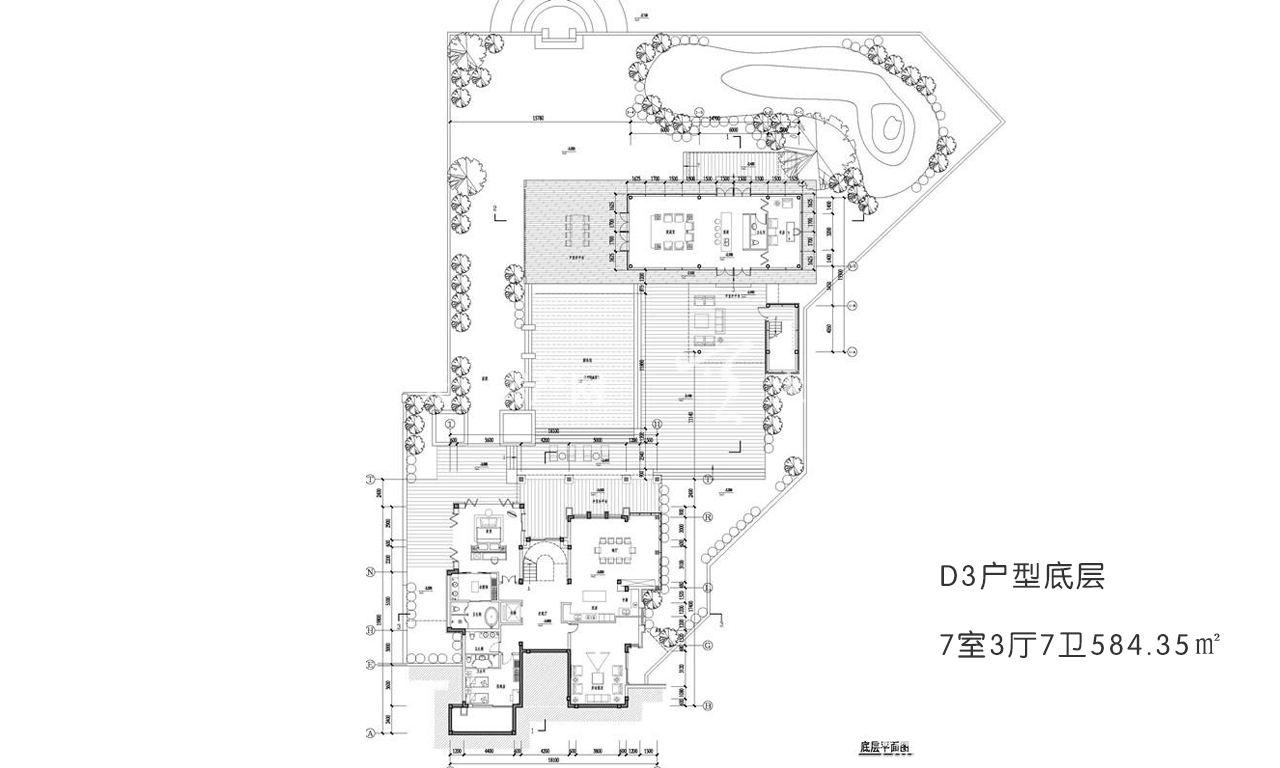 开维国玺二十五院 D3户型底层7室3厅7卫584.35㎡.jpg