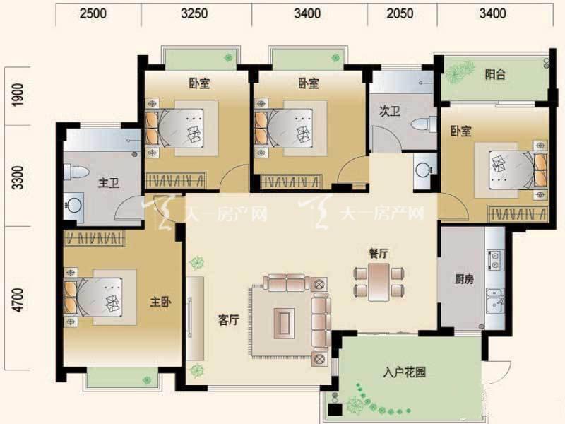 腾冲世纪城 4室2厅2卫建面156㎡.jpg