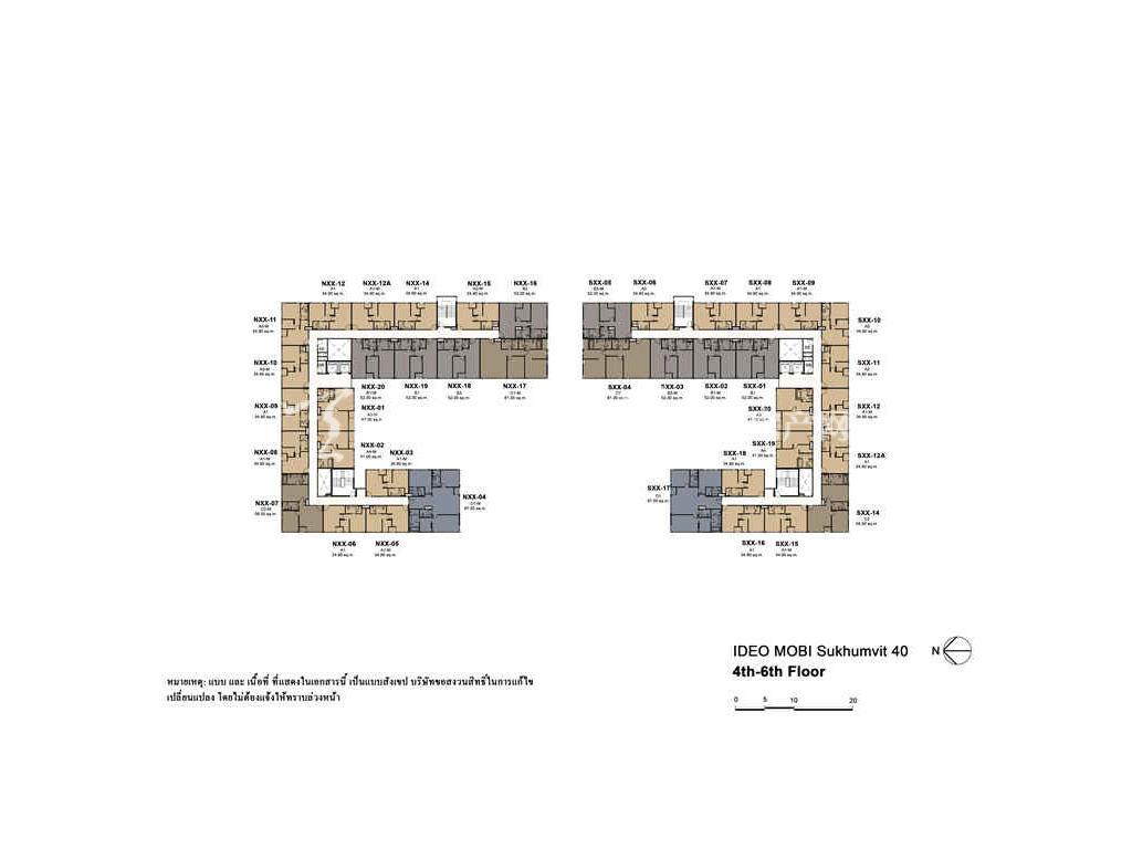未来公馆 户型分布图06