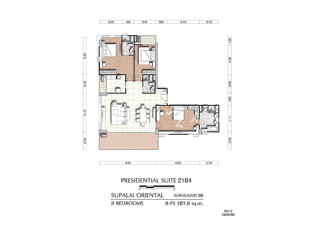 曼谷东方国际公寓 b-ps2104户型-3房2厅-建筑面积167㎡.jpg