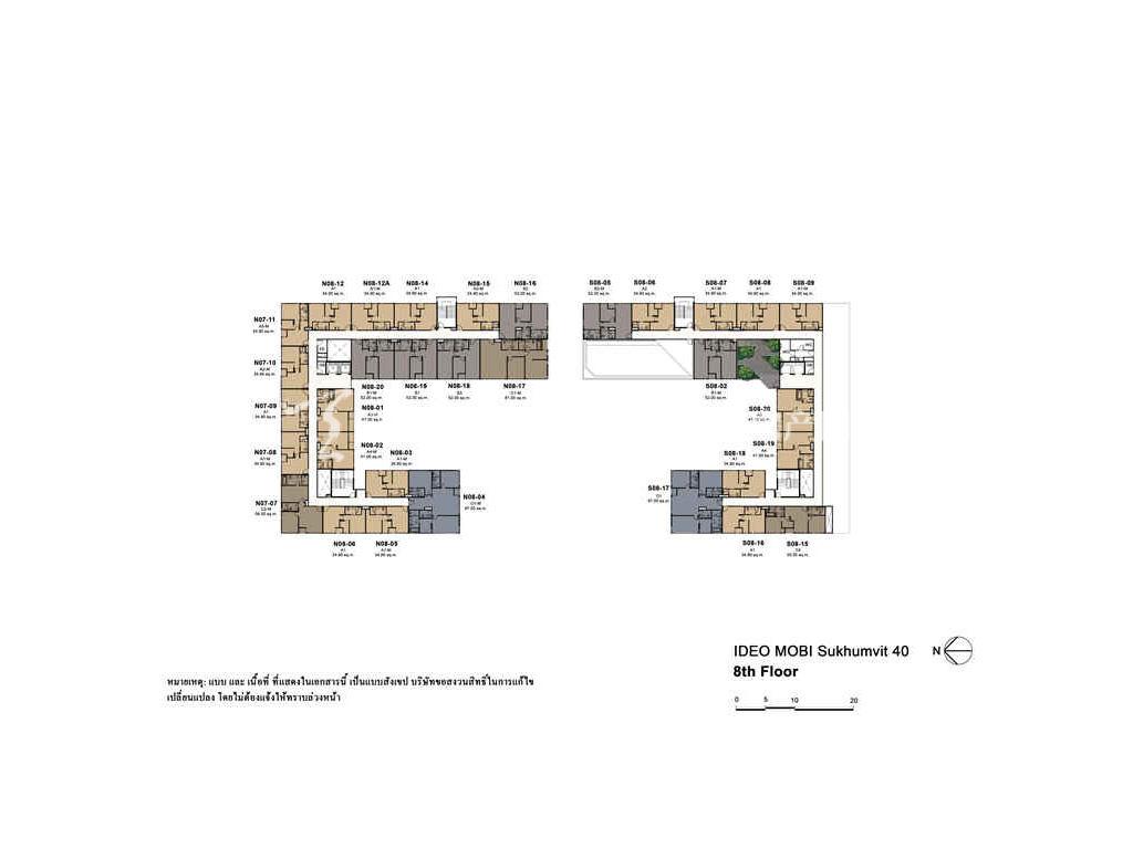 未来公馆 户型分布图01
