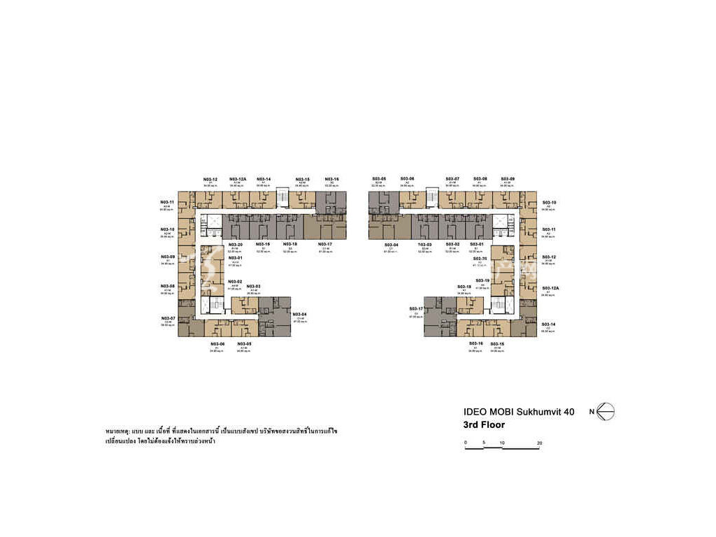 未来公馆 户型分布图05