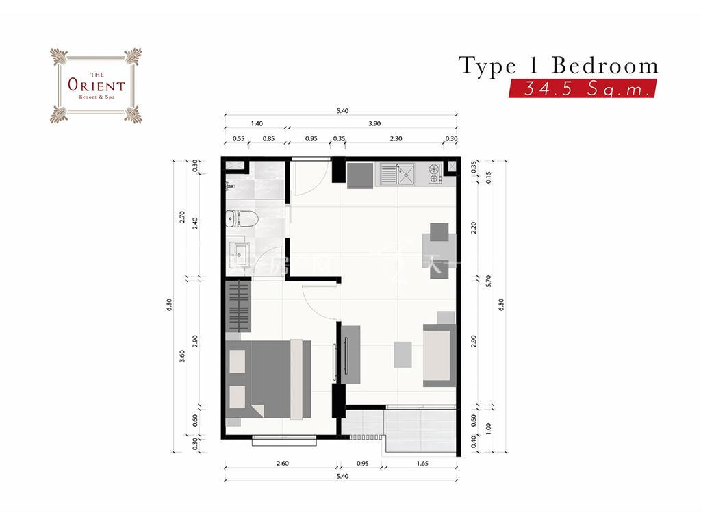 东方花园 1户型-1房2厅-建筑面积34.5㎡.jpg