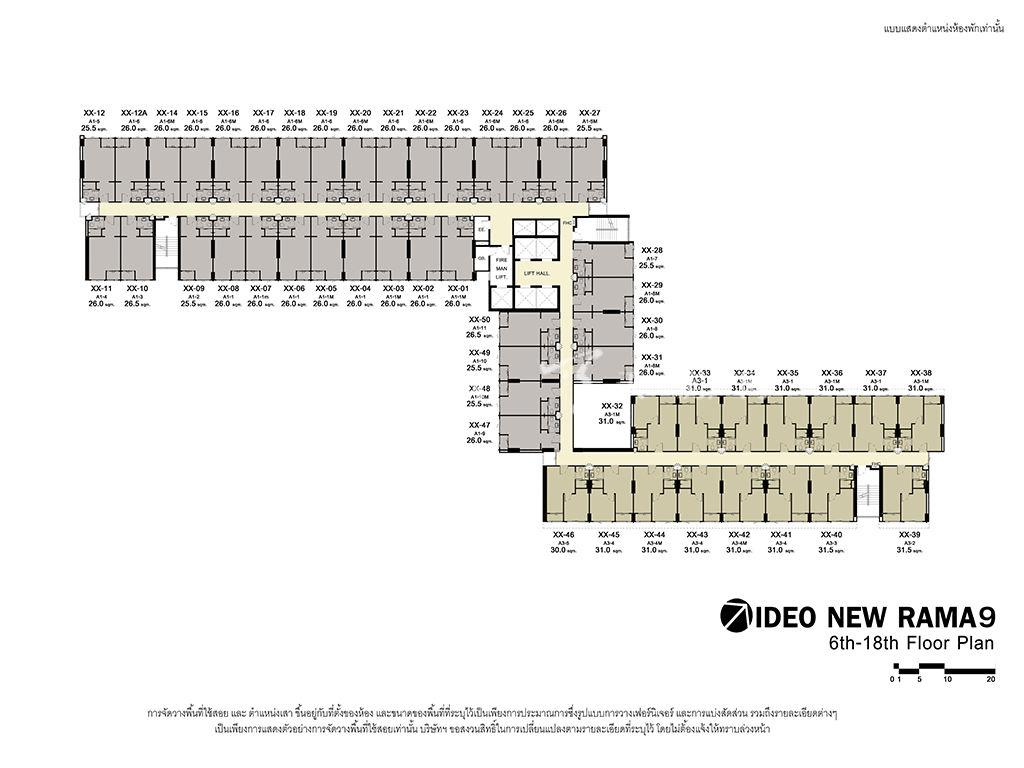曼谷Ideo New Rama 9 户型图 (8).jpg