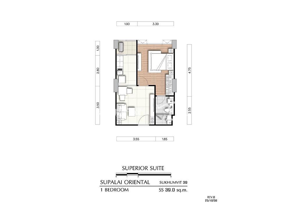曼谷东方国际公寓 ss户型-1房1厅-建筑面积39㎡.jpg