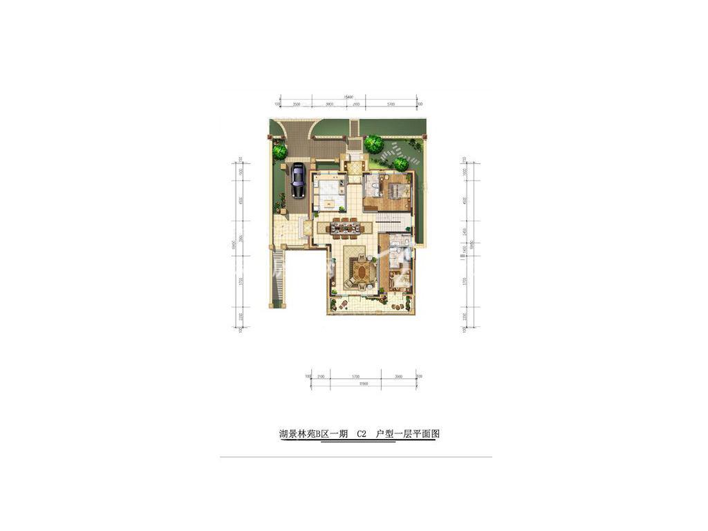 古滇名城湖景林苑B区C2户型5室3厅8卫1厨建面492㎡1层.jpg