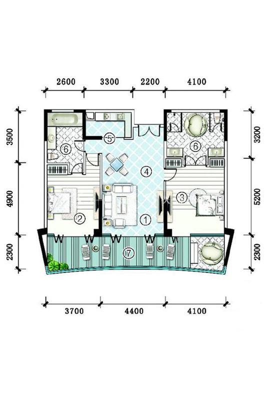雅居乐清水湾-洋房SA3-G-2房2厅1厨2卫-166.89㎡.jpg