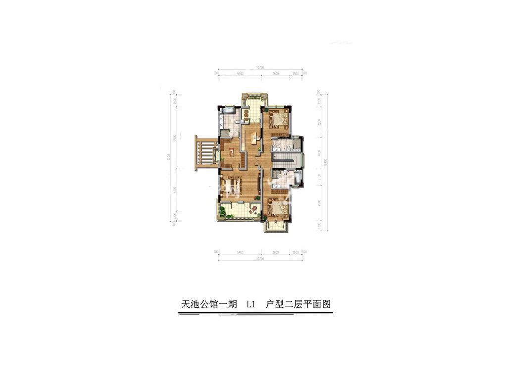 古滇名城天玺别苑L1户型5室3厅7卫1厨建面436㎡2层.jpg
