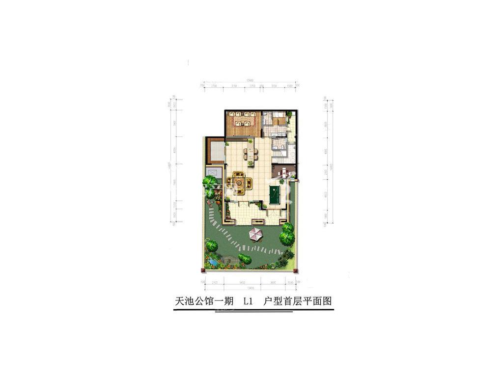 古滇名城天玺别苑L1户型5室3厅7卫1厨建面436㎡首层.jpg